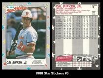 1988 Fleer Star Stickers #3