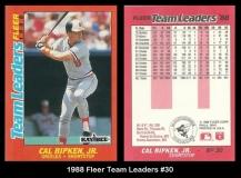 1988 Fleer Team Leaders #30