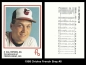1988 Orioles French Bray #8