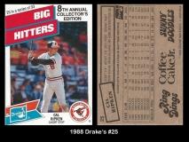 1988 Drakes #25