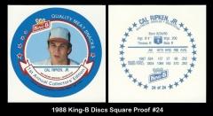 1988 King-B Discs Square Proof #24