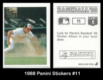 1988 Panini Stickers #11