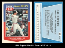 1988 Topps Rite-Aid Team MVPs #13