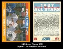 1988 Score Glossy #651