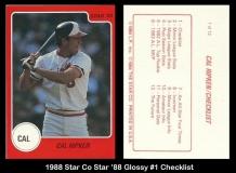 1988 Star Co Star 88 Glossy #1 Checklist