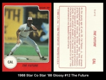 1988 Star Co Star 88 Glossy #12 The Future