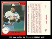 1988 Star Co Star 88 Glossy #6 1983 AL MVP