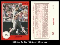 1988 Star Co Star 88 Glossy #8 Ironman