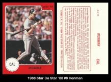 1988 Star Co Star 88 #8 Ironman