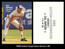 1988 Action Superstars Series I #9