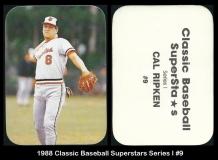 1988 Classic Baseball Superstars Series I #9