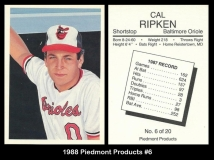1988 Piedmont Products #6
