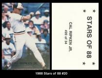 1988 Stars of 88 #20