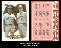 1988 Topps Tiffany #51