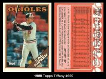 1988 Topps Tiffany #650