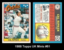 1988 Topps UK Minis #61