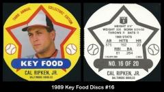 1989 Key Food Discs #16