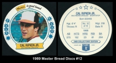 1989 Master Bread Discs #12