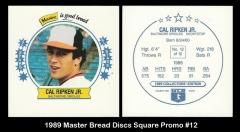 1989 Master Bread Discs Square Promo #12