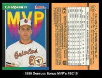 1989 Donruss Bonus MVPs #BC15