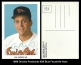 1989 Orioles Postcards #26 Blue Facsimile Auto