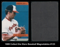1989 Collect the Stars Baseball Magnetables #123