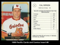 1989 Pacific Cards and Comics Insert #8