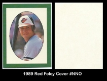 1989 Red Foley Cover #NNO