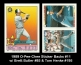 1989 O-Pee-Chee Sticker Backs #11 Brett Bulter #85 & Tom Henke #195