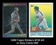 1989 Topps Stickers #150 AS w Gary Carter #55