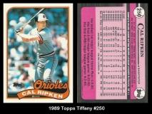 1989 Topps Tiffany #250