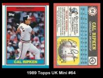 1989 Topps UK Mini #64
