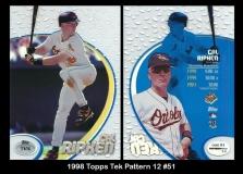 1998 Topps Tek Pattern 12 #51