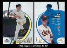 1998 Topps Tek Pattern 13 #51