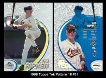 1998 Topps Tek Pattern 18 #51