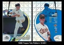 1998 Topps Tek Pattern 19 #51