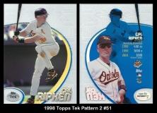 1998 Topps Tek Pattern 2 #51