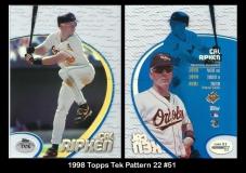 1998 Topps Tek Pattern 22 #51