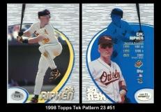 1998 Topps Tek Pattern 23 #51
