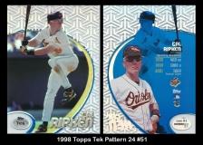 1998 Topps Tek Pattern 24 #51