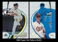 1998 Topps Tek Pattern 26 #51