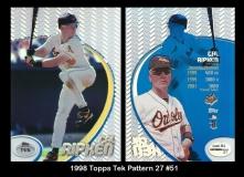 1998 Topps Tek Pattern 27 #51