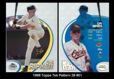 1998 Topps Tek Pattern 28 #51