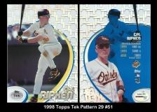 1998 Topps Tek Pattern 29 #51