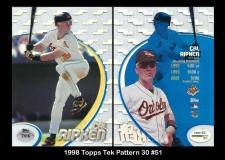 1998 Topps Tek Pattern 30 #51