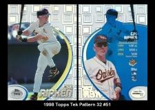 1998 Topps Tek Pattern 32 #51