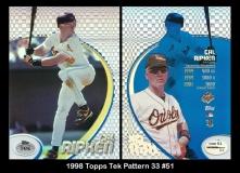 1998 Topps Tek Pattern 33 #51