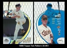 1998 Topps Tek Pattern 35 #51