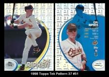 1998 Topps Tek Pattern 37 #51