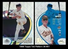 1998 Topps Tek Pattern 38 #51